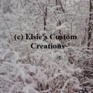 Winter Scene 3 - PDF Cross Stitch Pattern