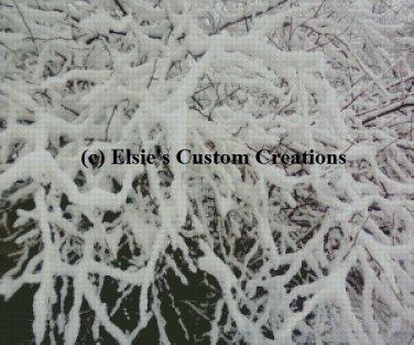 Winter Scene 4 - PDF Cross Stitch Pattern