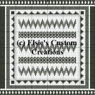 Blackwork 1 - PDF Cross Stitch Pattern