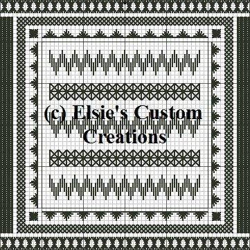 Blackwork 1 - PDF Cross Stitch Pattern