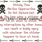 Stitchy Time 2 - PDF Cross Stitch Pattern