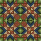 4 Block Quilt Wyoming Valley 1 - PDF Cross Stitch Pattern