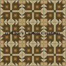 9 Block Quilt Bear Claw 1 - PDF Cross Stitch Pattern