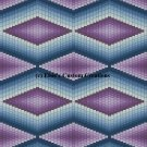 Bargello Quilt 1 - PDF Cross Stitch Pattern