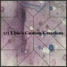 Watercolor Quilt Block 12 - PDF Cross Stitch Pattern