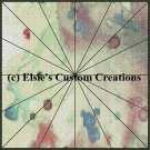 Watercolor Quilt Block 14 - PDF Cross Stitch Pattern