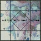 Watercolor Quilt Block 16 - PDF Cross Stitch Pattern