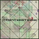 Watercolor Quilt Block 20 - PDF Cross Stitch Pattern