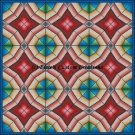 Full Size Quilt Diamond Stars - PDF Cross Stitch Pattern