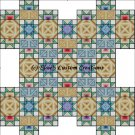 Shaped Quilt Connemara Road - PDF Cross Stitch Pattern