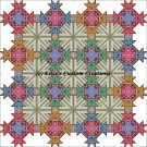 Shaped Quilt County Fair Flair - PDF Cross Stitch Pattern