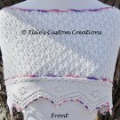English Mesh Lace Cowl Shawl - PDF Knitting Pattern