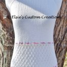 English Mesh Lace Halter Top - PDF Knitting Pattern