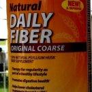 CVS Brand Natural Daily Fiber Original Coar 114 doses 29 oz EXP 4/2017 FREE SHIPPING