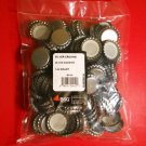 144 NEW SILVER CROWN CAPS STANDARD 26.5 SIZE FOR SODA & BEER BOTTLE KITS CAPPERS