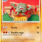 Pokemon Platinum Arceus Uncommon Card Graveler 37/99