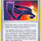 Pokemon Platinum Arceus Uncommon Card Expert Belt 87/99