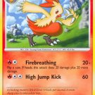 Pokemon Platinum Uncommon Card Combusken 45/127