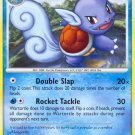 Pokemon Platinum Uncommon Card Wartortle 65/127
