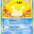Pokemon Platinum Common Card Psyduck 87/127