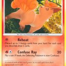 Pokemon Platinum Common Card Vulpix 102/127