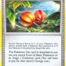 Pokemon Platinum Uncommon Card Memory Berry 110/127