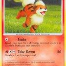 Pokemon Rising Rivals Common Card Growlithe 63/111