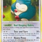Pokemon Rising Rivals Common Card Snorlax 81/111