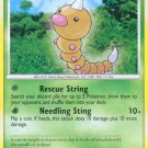 Pokemon Rising Rivals Common Card Weedle 86/111