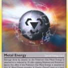 Pokemon Rising Rivals Uncommon Card Metal Energy 100/111