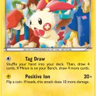 Pokemon Legendary Treasures Uncommon Card Plusle 47/113