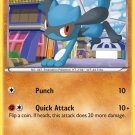 Pokemon Legendary Treasures Uncommon Card Riolu 79/113