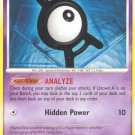 Pokemon Diamond & Pearl Single Card Uncommon Unown A 65/130