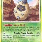 Pokemon Secret Wonders Common Card Burmy Sandy Cloak 79/132