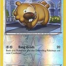 Pokemon Dragons Exalted Reverse Holo Common Card Bidoof 106/124