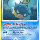 Pokemon Secret Wonders Common Card Qwilfish 101/132