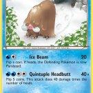 Pokemon Plasma Storm Uncommon Card Piloswine 27/135
