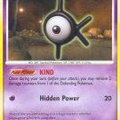 Pokemon Secret Wonders Uncommon Card Unown K 68/132