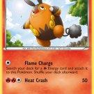 Pokemon Black & White Uncommon Card Pignite 17/114