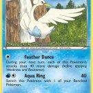 Pokemon Black & White Rare Card Swanna 37/114