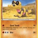 Pokemon Black & White Common Card Sandile 63/114