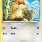 Pokemon Black & White Common Card Patrat 77/114