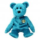 TY Beanie Babies CLASSY the People's Beanie Baby Bear (MINT with tags)