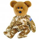 TY Beanie Babies HERO the Bear - Australia (MINT with tags)