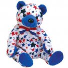TY Beanie Babies BLUE the Bear (MINT with tags)