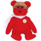 TY Beanie Babies BEARON the Bear - Red (MINT with tags)
