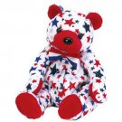 TY Beanie Babies RED the Bear - USA Exclusive (MINT with tags)