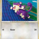 Pokemon HS Undaunted Single Card Common Rattata 64/90
