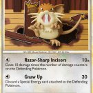 Pokemon HS Undaunted Single Card Uncommon Raticate 34/90