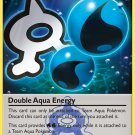 Pokemon Double Crisis Single Card Uncommon Double Aqua Energy 33/34
